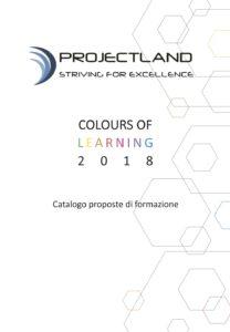 Projectland, catalogo di proposte formative 2018