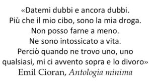 Citazione Emil Cioran