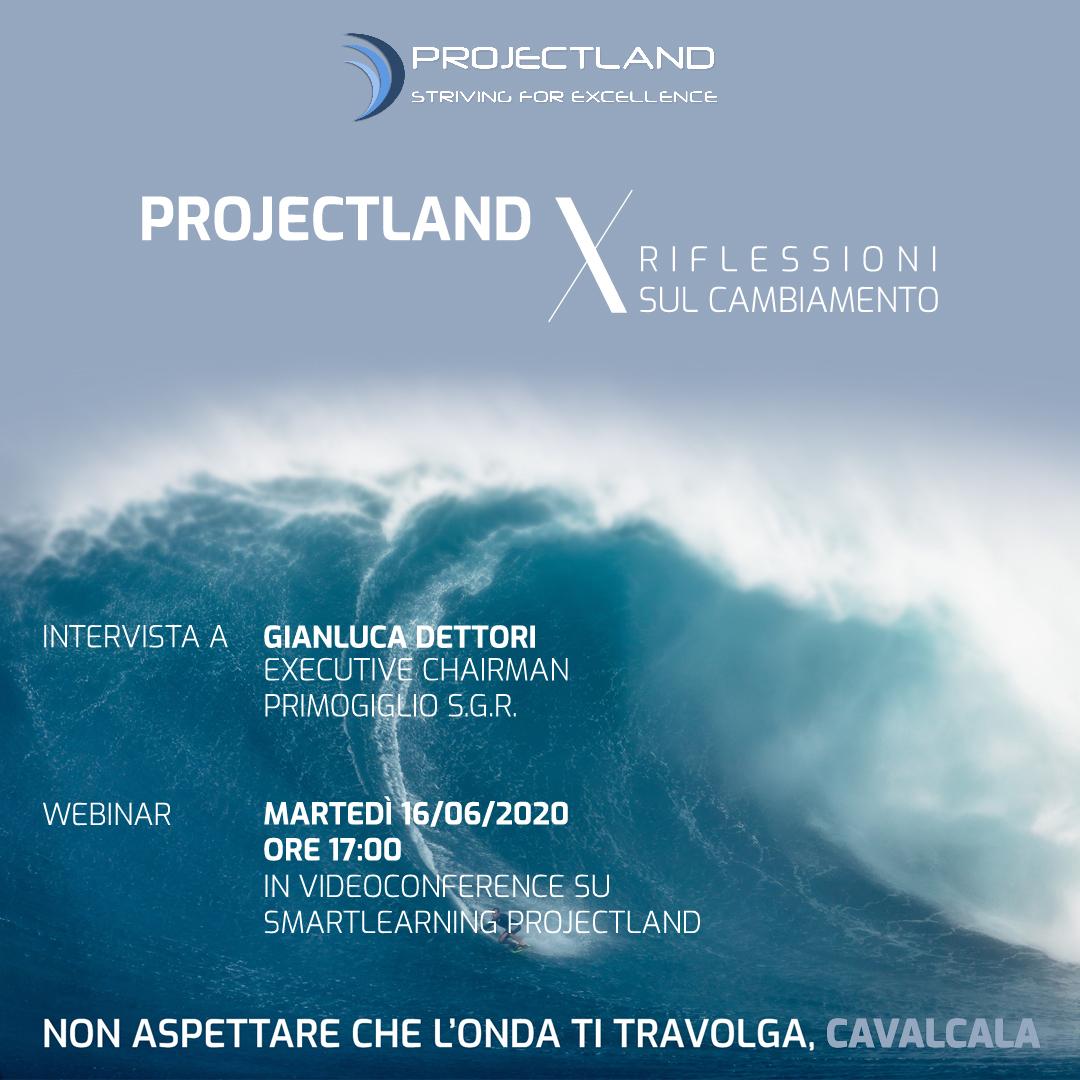 Projectland X Riflessioni sul cambiamento - Intervista a G. Dettori