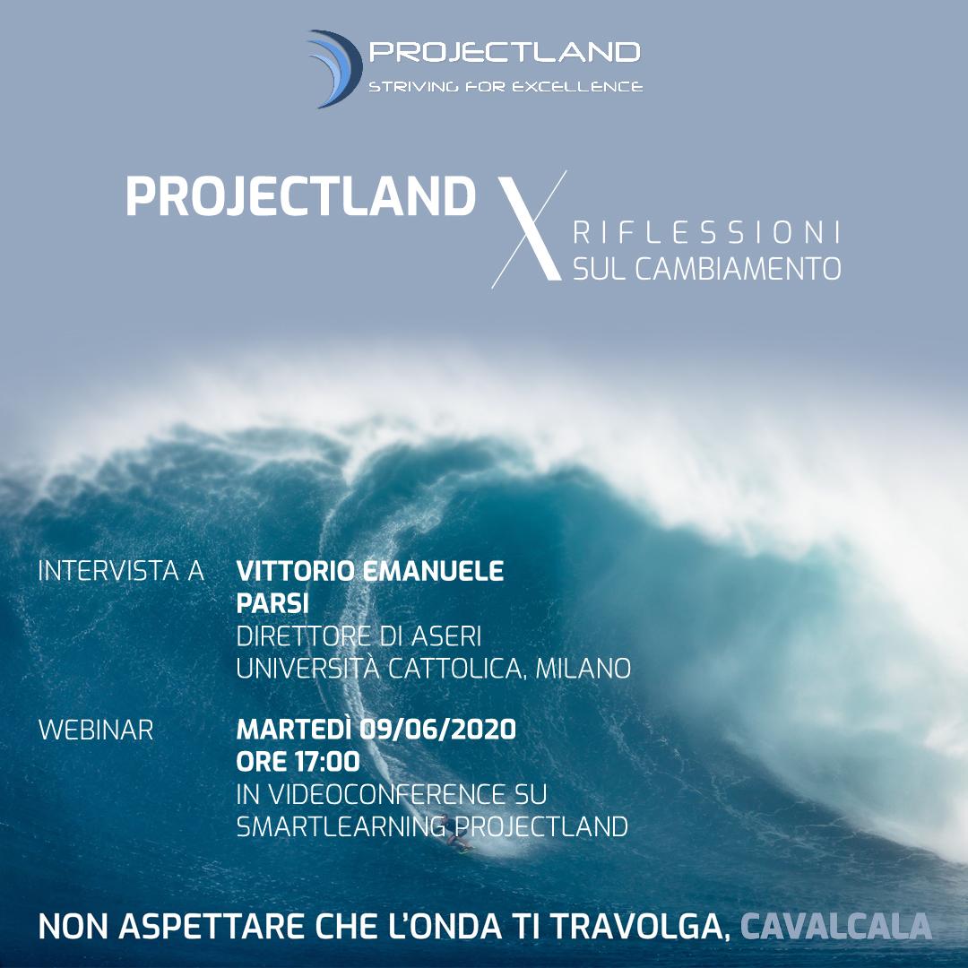 Projectland X Riflessioni sul cambiamento - Intervista a V.E. Parsi